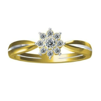 Nine Diamond Ring