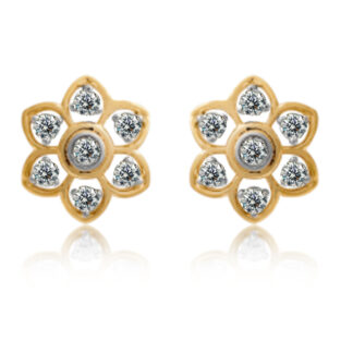 Seven Diamond Earrings