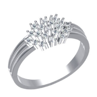 Spikes Diamond Ring