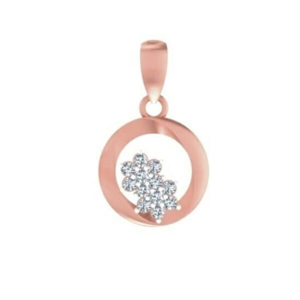 Two Star Diamond Pendant for sale