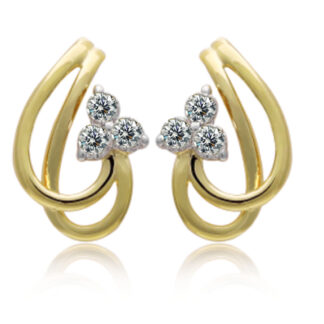 Charming Diamond Earrings