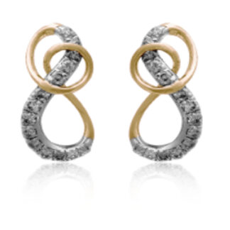 Pear Drop Diamond Earrings