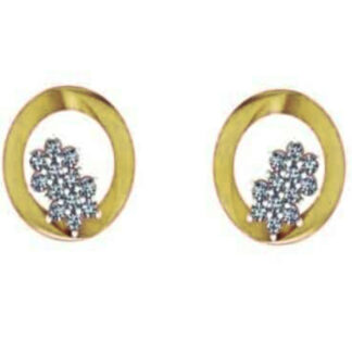 Beautiful Two Star Diamond Earrings