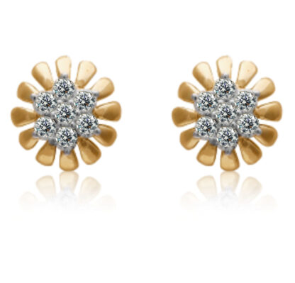 Sun Glow Diamond Earrings
