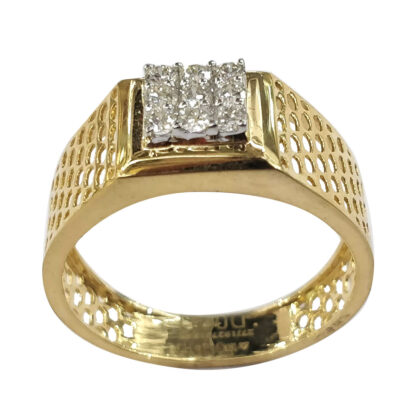 Nine Diamond Light Weight Ring