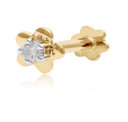 Plug Diamond Nose Pin