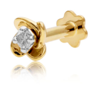 Single Diamond Vizu Nose Pin